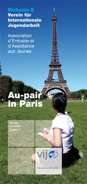 Titelblatt Au-pair in Paris
